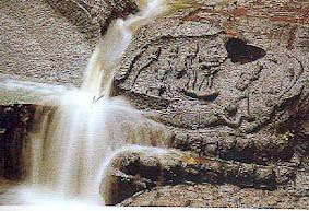 Carving of Vishnu at K'bal Spean